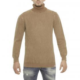 Maglione Over-d a collo alto effetto sbiadito vintage da uomo rif. OM241MG