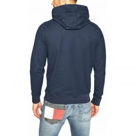 Felpa Tommy Jeans in cotone biologico con cappuccio da uomo rif. DM0DM08730