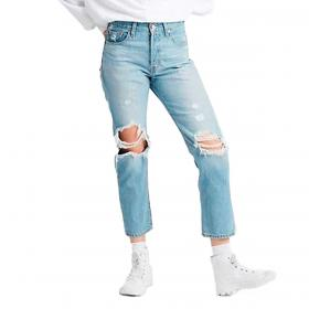 Jeans Levi's 501® Original Cropped Patched jeans da donna rif. 36200-0072