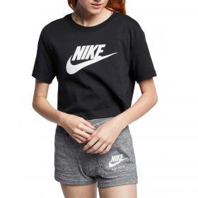 T-shirt Nike Sportswear Essentials ridotta girocollo da donna rif. BV6175