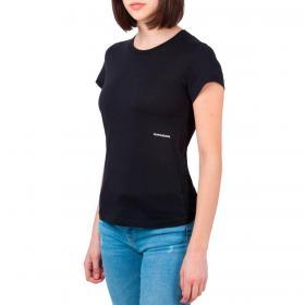 T-shirt Calvin Klein Jeans con stampa micro branding laterale da donna rif. J20J215702