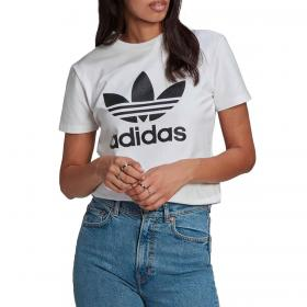 T-shirt Adidas Adicolor Classics Trefoil con stampa da donna rif. GN2899
