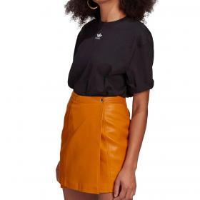 T-shirt Adidas Loungewear adicolor essentials con mini logo da donna rif. GN4784