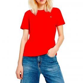 T-shirt Tommy Jeans in morbido jersey da donna rif. DW0DW06901