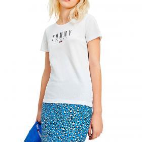 T-shirt Tommy Jeans Essential skinny fit da donna rif. DW0DW09926