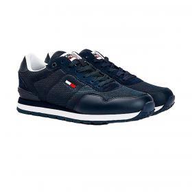Scarpe Sneakers Tommy Jeans basse a rete da uomo rif. EM0EM00668