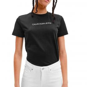 T-shirt Calvin Klein Jeans in cotone biologico con logo da donna rif. J20J215322