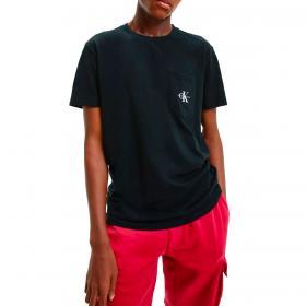 T-shirt Calvin Klein Jeans in cotone biologico con logo da uomo rif. J30J317294