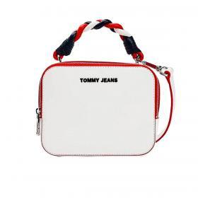 Borsa Tommy Jeans a tracolla con manico intrecciato da donna rif. AW0AW09728