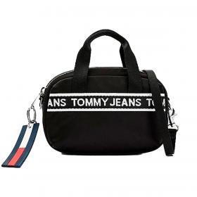 Borsa Tommy Jeans a tracolla piccola con nastro iconico da donna rif. AW0AW09738