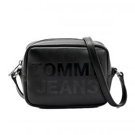 Borsa Tommy Jeans Camera bag con logo tono su tono da donna rif. AW0AW09853
