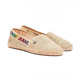 Espadrillas Tommy Jeans con logo sfumato da donna rif. EN0EN01287
