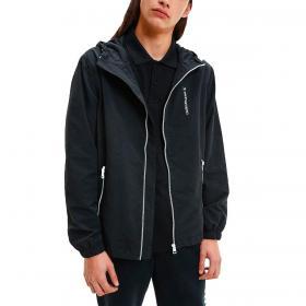 Giubbotto giacca Calvin Klein Jeans con cappuccio e logo sul retro da uomo rif. J30J317528