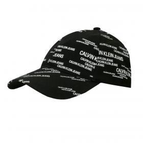 Cappello berretto Calvin Klein Jeans con stampa logo all over unisex rif. K50K506812