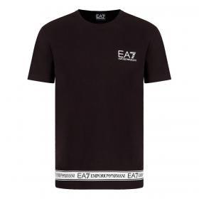 T-shirt Emporio Armani EA7 in jersey con logo tape da uomo rif. 3KPT05 PJ03Z