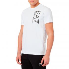 T-shirt Emporio Armani EA7 in jersey con logo metal da uomo rif. 3KPT10 PJ7RZ