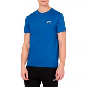 T-shirt Emporio Armani EA7 in jersey con logo metal da uomo rif. 8NPT51 PJ9MZ