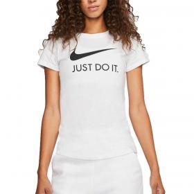 T-shirt Nike Sportswear stampa Just Do It girocollo da donna rif. CI1383