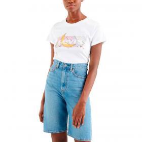 T-shirt Levi's The Perfect Tee con stampa logo da donna rif. 17369-1251