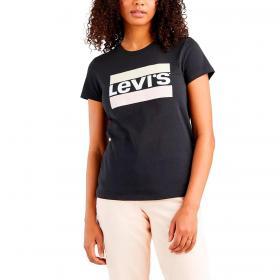 T-shirt Levi's The Perfect Tee con stampa logo da donna rif. 17369-1498