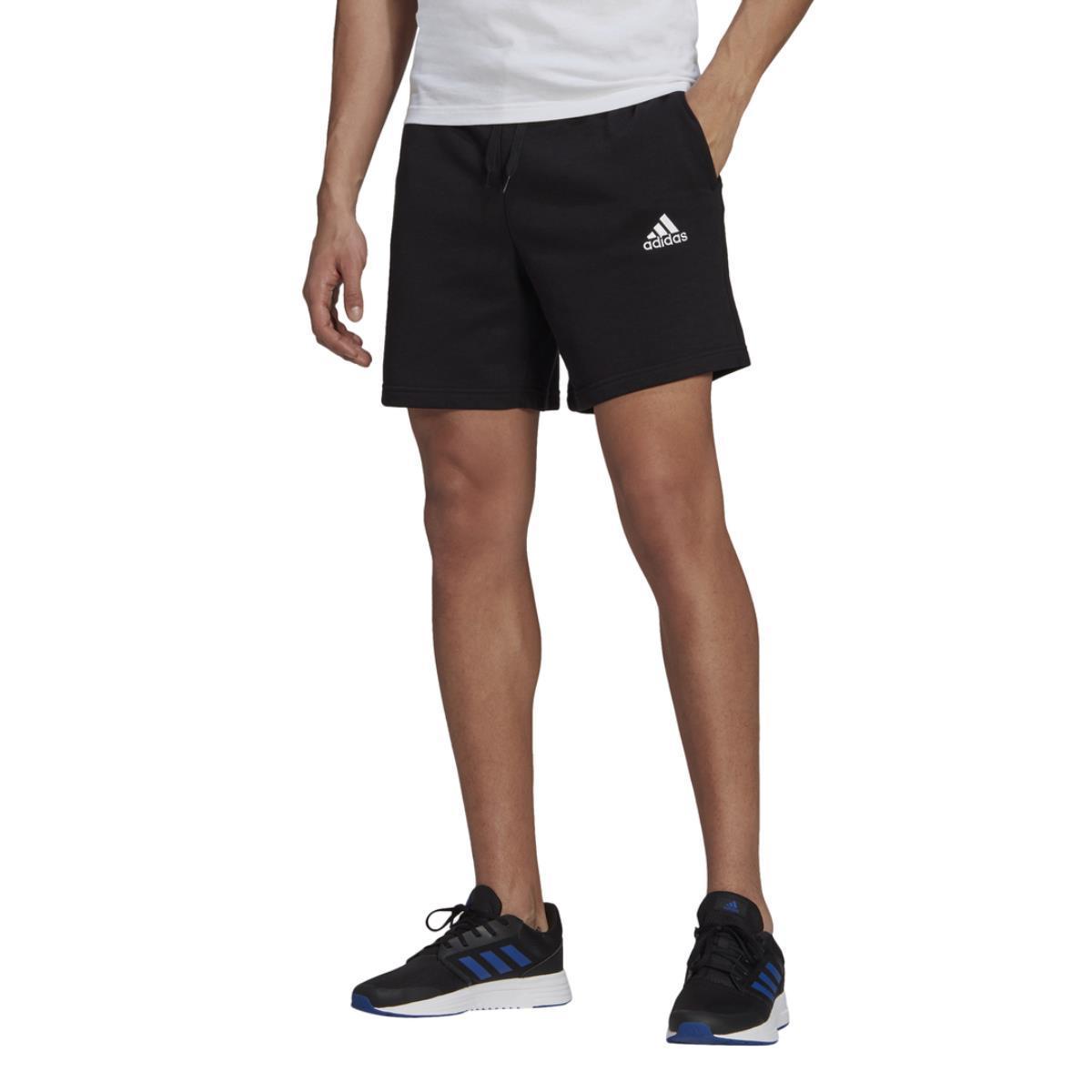 Shorts Adidas Essential con logo ricamato da uomo rif. GK9600