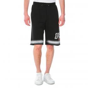 Bermuda pantaloncino Pyrex con stampa laterale da uomo rif. 21EPB42123