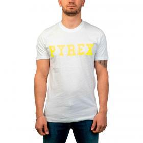 T-shirt Pyrex girocollo con stampa logo centrale da uomo rif. 21EPB42133