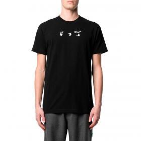 T-shirt Off-White Bolt Arrow S/S Slim Tee da uomo rif. OMAA027S21JER012