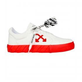 Scarpe Sneakers Off-White Vulcanized Low da uomo rif. OMIA085F20LEA005