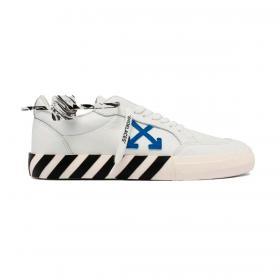 Scarpe Sneakers Off-White Vulcanized Low da uomo rif. OMIA085S21LEA001