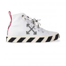 Scarpe Sneakers Off-White Vulcanized Mid da uomo rif. OMIA119R21FAB001