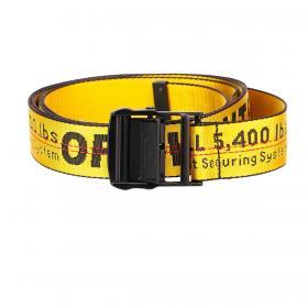Cintura Off-White in tela logata all over regolabile unisex rif. OMRB012F20FAB001