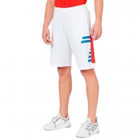 Shorts Emporio Armani EA7 con maxi stampa 7 da uomo rif. 3KPS58 PJ05Z