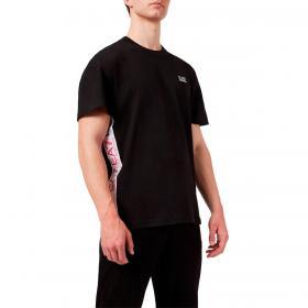 T-shirt Emporio Armani EA7 in jersey con stampa logo 3D da uomo rif. 3KPT13 PJ02Z