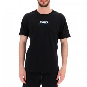 T-shirt Pyrex con logo e maxi stampa sulla schiena da uomo rif. 21EPB41961