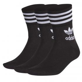 Confezione Calzini calze Adidas Mid Cut (3 paia) unisex rif. GD3576