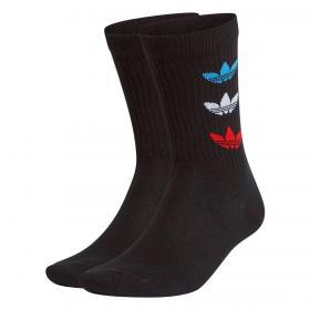 Calzini Adidas Tricolor Thin Ribbed 2pack da uomo rif. GN4913