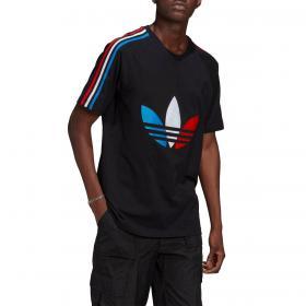 T-shirt Adidas Adicolor Tricolor con trifoglio da uomo rif. GQ8920