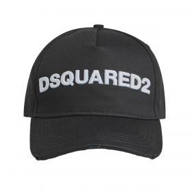 Cappello Dsquared2 Baseball Cap con logo ricamato da uomo rif. BCM0028 05C00001