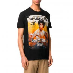 T-shirt Dsquared2 Bruce Lee con stampa da uomo rif. S71GD0900 S22507