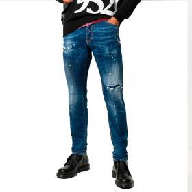 Jeans Dsquared2 Cool Guy Jean in denim 5 tasche da uomo rif. S71LB0773 S30342