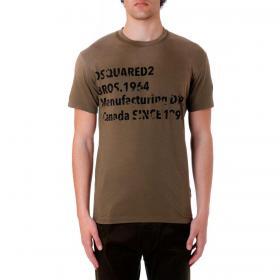 T-shirt Dsquared2 girocollo con stampa da uomo rif. S74GD0640 S21600