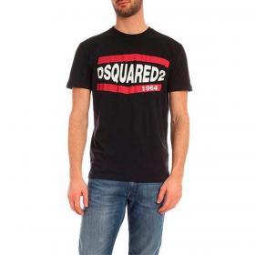 T-shirt Dsquared2 1964 con maxi stampa da uomo rif. S74GD0685 S21600