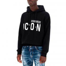 Felpa Dsquared2 Icon Hooded Sweatshirt con cappuccio da uomo rif. S79GU0003 S25042