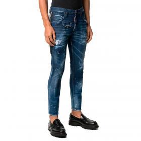 Jeans Dsquared2 Skater Jean con cerniera laterale da uomo rif. S74LB0837 S30342