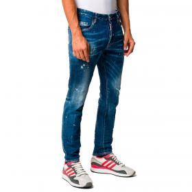Jeans Dsquared2 Skater Jean 5 tasche da uomo rif. S71LB0774 S30342