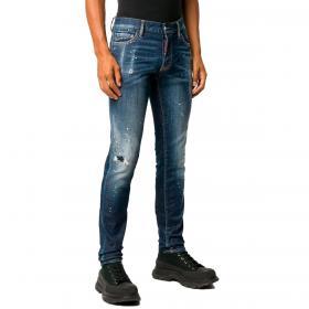 Jeans Dsquared2 Skinny Effetto vissuto da uomo rif. S71LB0775 S30342