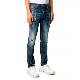 Jeans Dsquared2 Slim fit effetto vissuto da uomo rif. S71LB0778 S30342