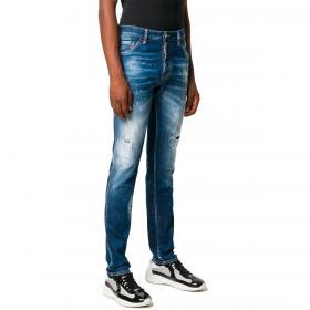 Jeans Dsquared2 Slim fit effetto consumato da uomo rif. S71LB0795 S30342