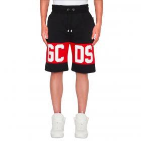 Shorts GCDS con banda con logo da uomo rif. CC94M031004